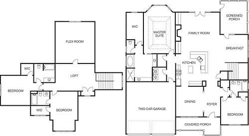 Brookwood Park Floorplan