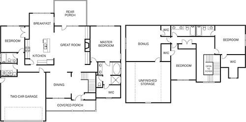 Sampson Floorplan